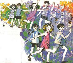Maria Keil: ilustração para Livro de Leitura da Segunda Classe, de Luís Filipe Abreu (1971)