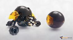 Mobile sphere robot by iivietal