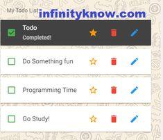 Todo Smart Task schedule Lists using Vuejs Examples 15 August Images, Web Development Tutorial, Schedule, Tutorials, Social Media, Digital, Timeline, Social Networks, Social Media Tips