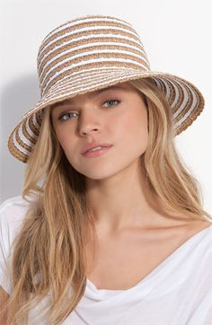 Eric Javits 'Braid Dame' Hat - would love this for summer trips
