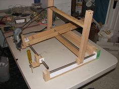 Picture of Dremel Carver/Duplicator like a Human Powered CNC Router