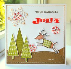 Kath's Blog......diary of the everyday life of a crafter: Hero Arts Christmas Day 2