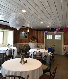 The York Room venue at Fosters Clambakes and Catering in York, Maine