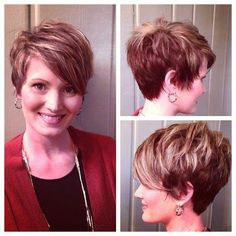 Short Haircuts for Bangs - Women Short Hairstyle Ideas