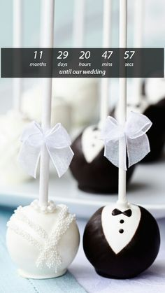 Perfect treat for bride and groom