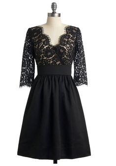 Lace Top LBD.