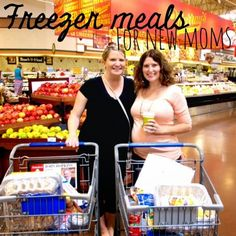Nestful of love: Tried and True Freezer Meals for New Moms! {Part 1}