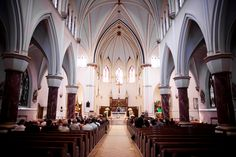 church weddings...i heart old cathedrals...
