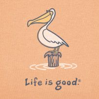When life has you stumped, take time to just be. For Pauline, because you love your pelicans
