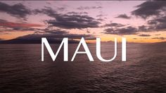 Maui Nature in HD plus Drone Footage