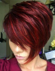 Resultado de imagen para vogue cortes de cabello corto rojo en españa