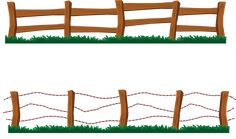 Clip art picture of gate in a wooden fence. Description from fencepanelss.net. I searched for this on bing.com/images