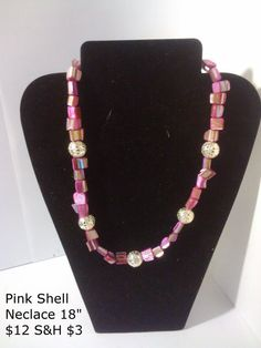Pink Shell Necklace