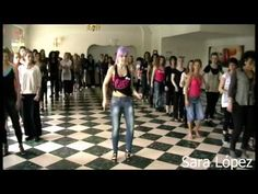 Sara López Kizomba lady style KizomBachata Festival de Rouen 2ème Edition - YouTube