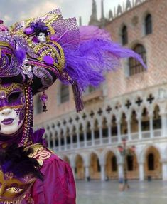 Carnevale, Italy's carnival or Mardi Gras, is celebrated in Venice and other Italian cities. See carnevale dates and 5 top places to go in Italy for carnival festivals. Venetian Masquerade, Venetian Masks, Masquerade Ball, Venice Shopping, Venice Travel, Venice Tours, Venice Things To Do, Costume Venitien, Venice Mask