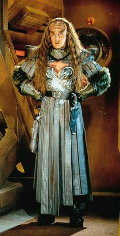 BLUEPRINT BIRD OF PREY KLINGON DAMEN T-SHIRT Star Klingonen Enterprise Trek