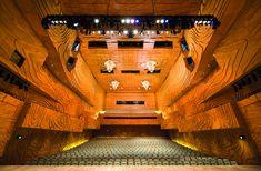 Центр искусств штата Виктория в Мельбурне: интерьер зала