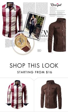 """Styling idea"" by century-fashion ❤ liked on Polyvore featuring Oris, men's fashion and menswear"