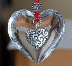 Handmade heart decoration   eBay UK   eBay.co.uk