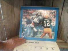 VINTAGE 1992 Dallas Cowboys Wall Calendar