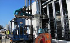 SDG&E's energy storage project in Escondido will be the largest battery energy storage project in America when completed in early Storage Facility, Energy Storage, Gas And Electric, Renewable Energy, Worlds Largest, Diving, San Diego, Construction, Southern California
