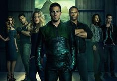 The CW on Tuesday released the Season 2 poster for Arrow. And while the action-drama's freshman run simply advertised star Stephen Amell/his abs, this time it's a team effort — though some of the cast placement invites interpretation. Stephen Amell, Green Arrow, Vampire Diaries Enzo, Vampire Diaries Fashion, Rodrigo Santoro, Batwoman, Ian Somerhalder, Dc Universe, Supergirl