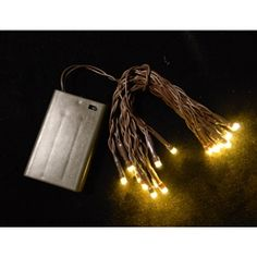 Battery Operated String Lights Brown Wire : Light Up My Life on Pinterest String Lights, Candle Lanterns and Pa?