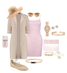 """Pink inspiration"" by mafaldapereira ❤ liked on Polyvore featuring Bando, Boohoo, Journee Collection, Folio, Miss Selfridge, Saks Fifth Avenue, Noted* and N'Damus"