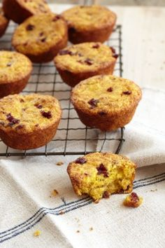 Orange Cranberry Muffins: 