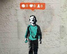 Vamos de Banksy pra começar bem a semana   ift.tt/1PQc8Kh  \