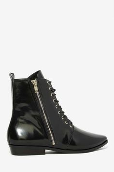 Patent Leather Boot