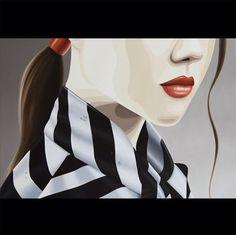 """""""Summer rain"""" by Duma Oil on canvas, 80 x 80 cm"""