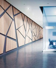 Interior Design HiP Awards Architecture Building Products Winner: Acrovyn Wall Panels by Construction Specialties Interior Modern, Office Interior Design, Interior Walls, Office Interiors, Interior Architecture, Plywood Interior, Wall Cladding Interior, Office Wall Design, Building Architecture
