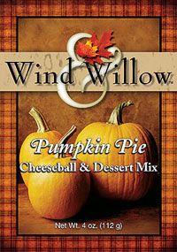 Wind and Willow Pumpkin Pie Cheeseball & Dessert Mix