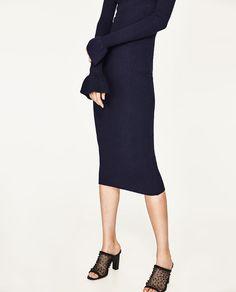 Image 1 of HIGH HEEL MESH SANDAL from Zara