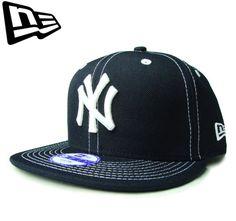 """【ニューエラ】【NEW ERA】9FIFTY KIDS NEW YORK YANKEES """"NY"""" ホワイトステッチ ネイビー キッズサイズ スナップバック【CAP】【newera】【snap back】【帽子】【赤】【白】【子ども】【BLACK】【キャップ】【ダンス】【楽天市場】"""