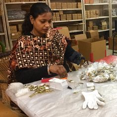 Our artisan partners in India are just finishing up a BIG order for us. Expect cute new styles in our shop soon!! Lots of stud earrings, new necklaces, all made fair trade and under $30! #fairtrade #socent #girlboss