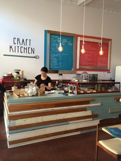 Craft Kitchen, 2 Ponsonby Road.  A nice addition to the top end of Ponsnobby.