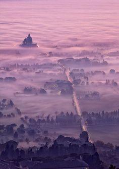 """Assis, foggy dusk"" by Maurizio Rellini"