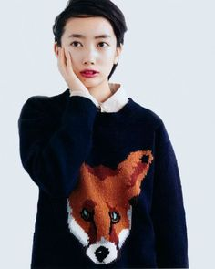 I swore off wearing animal sweaters long ago but this rad fox sweater? I'd be all over it.