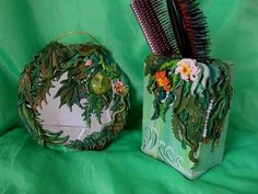 """Green Jungle"" - by craftster sinilga"