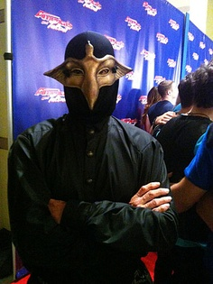 The mask stays on even after the show! #AGT / America's Got Talent
