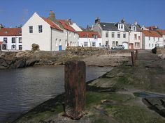 If you haven't visited the East Neuk of Fife, you've missed a real treat. Head south from St Andrews for about half an hour and you meet Anstruther, Crail, Pittenweem, St Monans and Elie. Beautiful...