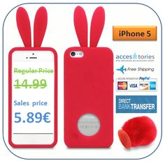 Sales? again? Yeap... Everyone needs his bunny... 5.89€  http://www.accestories.com/en/store/apple-accessories/cute-rabbit-bunny-ears-case-for-iphone-5-detail