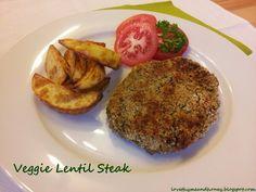 Veggie Lentil Steak