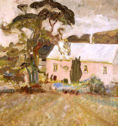 Peter Lanyon (British, 1918-1964) Pink Farm