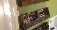 Diy shoe storage, Shoe storage and Storage ideas on Pinterest