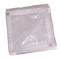 Size : 1/×1m Translucent Tarpaulin Waterproof Tarpauline Rainproof Cloth Tent Splice Awning Sun Shade 120g//㎡