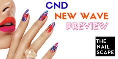 In addition to the New Wave collection, CND also released its new, much anticipated Shellac topcoat called Duraforce http://www.thenailscape.com/cnd-rides-the-new-wave-with-new-products/