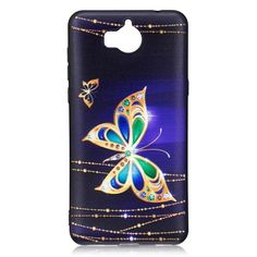 Coque Huawei Y6 2017 - Butterfly Diamond